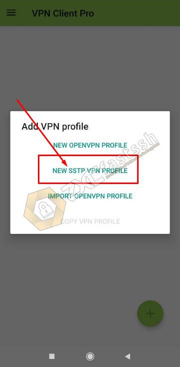SSTP VPN Application VPN Client Pro