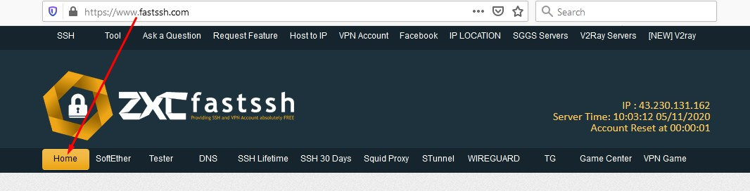 Create Free SSH Account Dropbear / OpenSSH