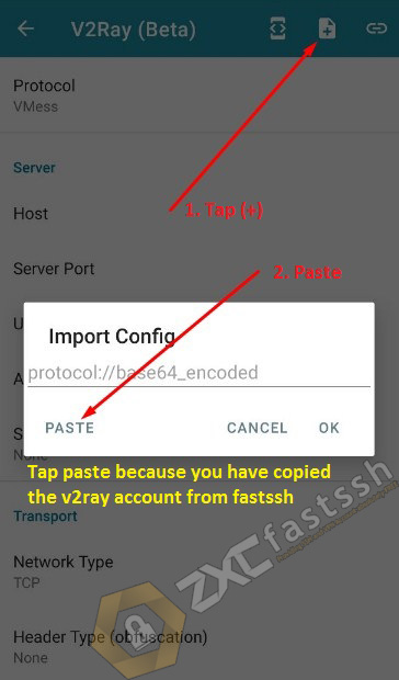 How to Use V2Ray in HTTP Injector