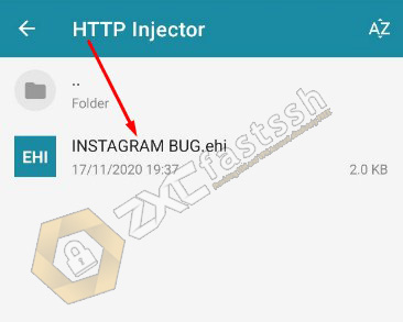 How to Import HTTP Injector Config