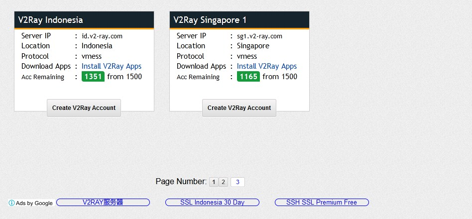 How to Create a Free V2Ray Account