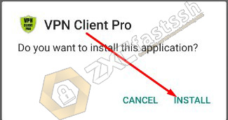 Download and Install the SSTP VPN application