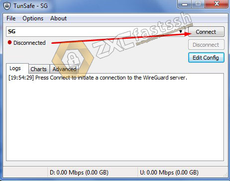 Connect Wireguard on PC