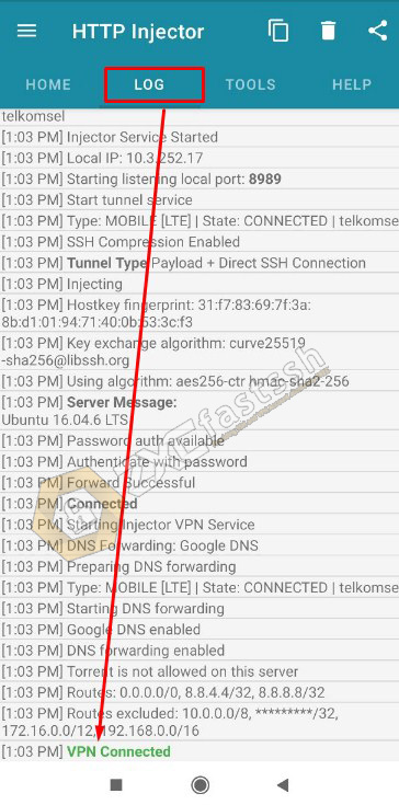 How to Hotspot Tethering HTTP Injector to PC