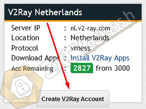 Create a Free V2Ray Account