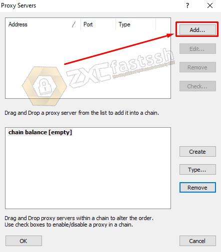 Open the Proxifier that you have installed on your PC then point the cursor on the Profile menu then click Proxy Servers ..