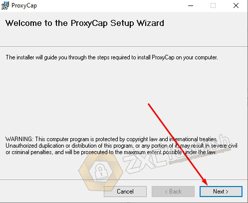 Download Install and Settings ProxyCap