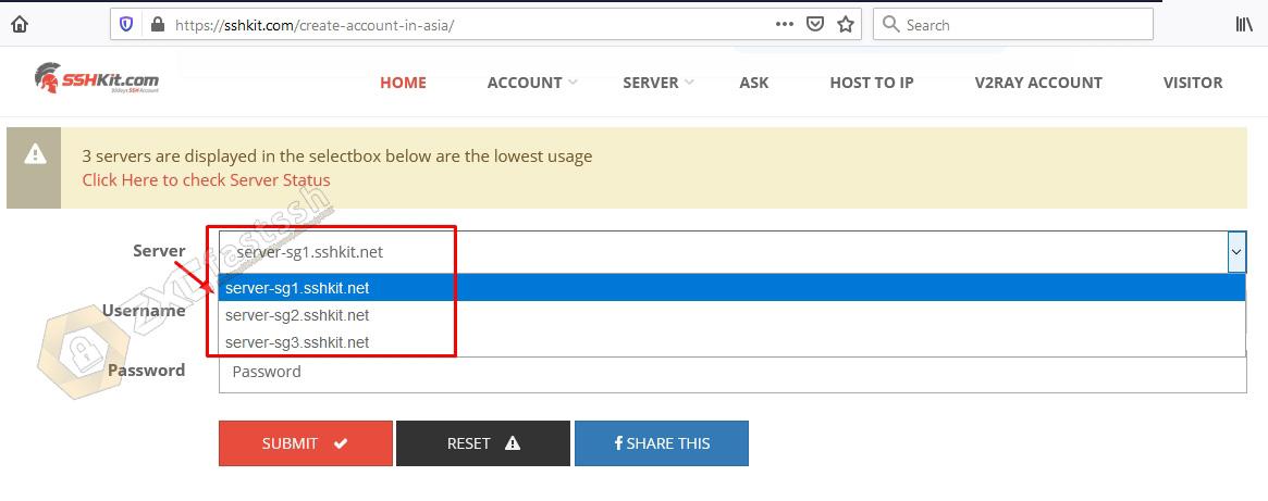 How to Create SSH / SSL Free Premium Account 1 Month