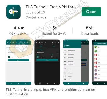 TLS Tunnel Application