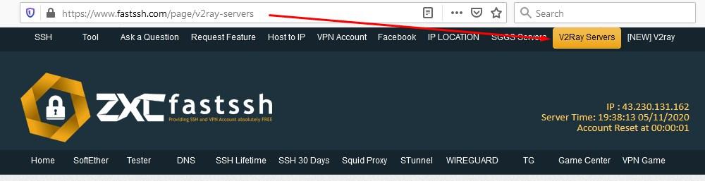 Create a Free V2Ray Account
