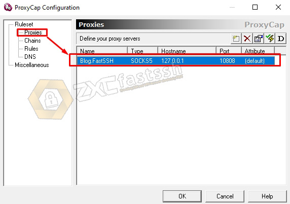 How to ensure all data sending by V2ray for selected programs (including online games)