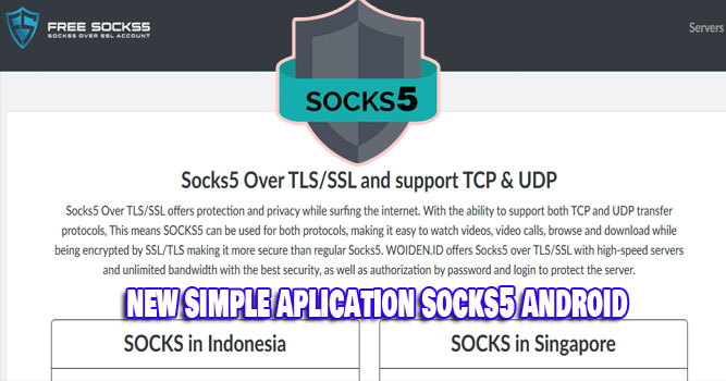 How to Use SOCKS5 on Android For Free Internet