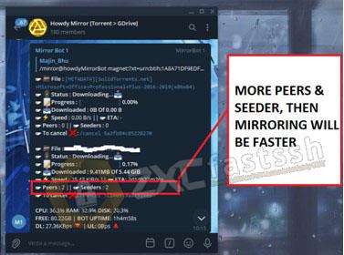 How to Download Torrent via Telegram Bot
