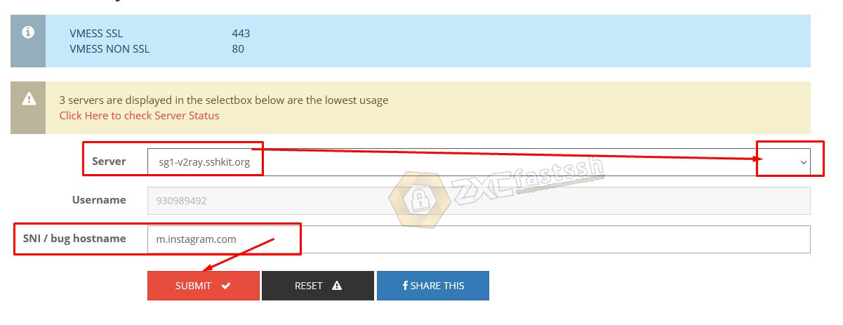 How to Create V2Ray Account 30 Days (1 Month)