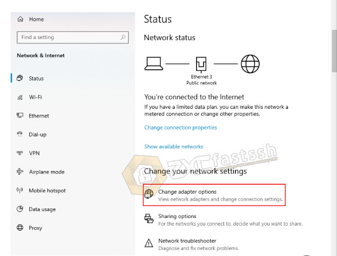 How to Hotspot VPN Connection on Windows